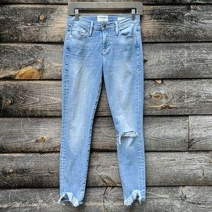 NWOT Frame Le Skinny de Jeanne Stretch Skinny Jean